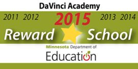 DaVinci Academy: MDE Reward School Recipient 2011-2015